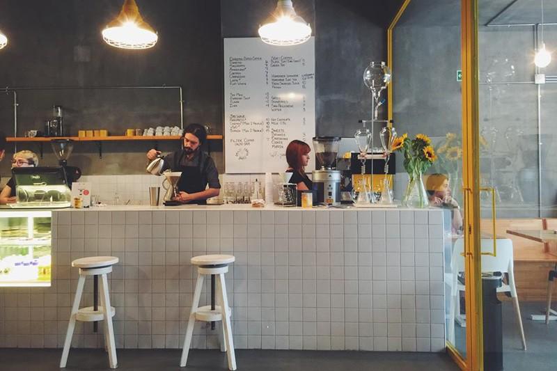 Enterijer kafića u Instanbulu inspirisan serijom Breaking Bad