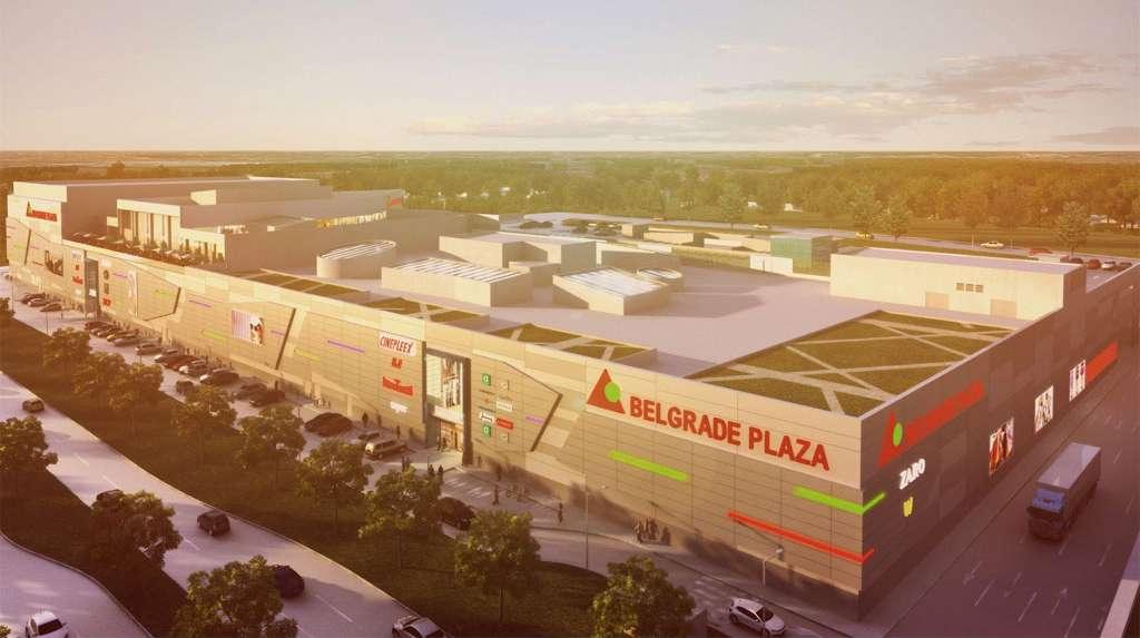 Novi tržni centar: Gradi se Belgrade Plaza na Karaburmi