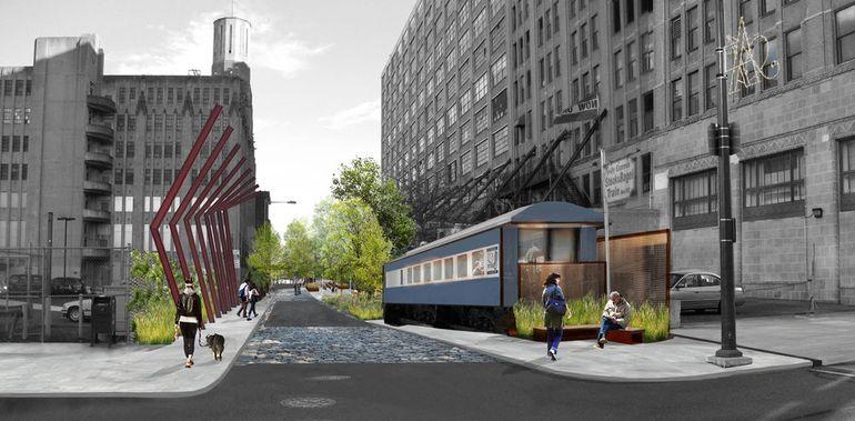 Filadelfija pretvara nadzemnu železnicu u parkove