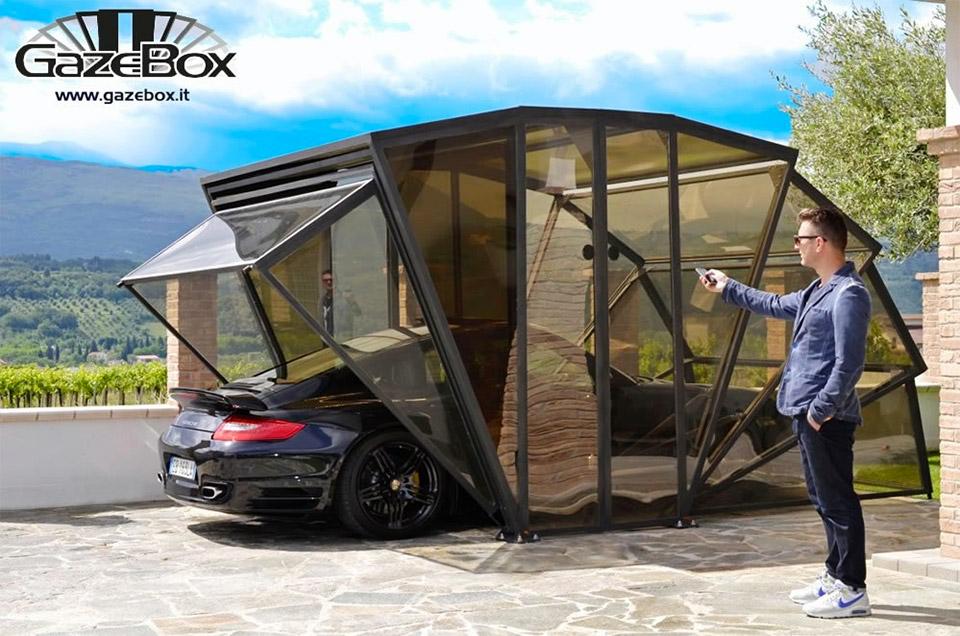 Gazebox: Sklopiva garaža koja stavlja vaš auto u prvi plan