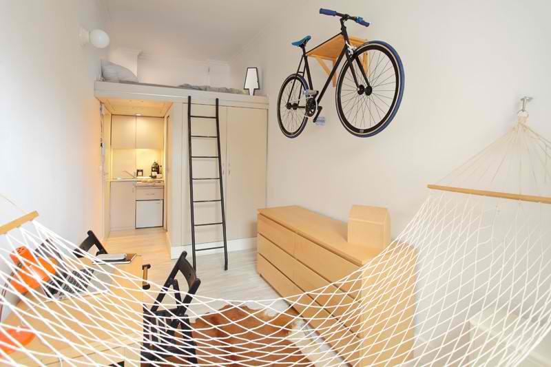 Stao je i bicikl: Kako je prostor od 13 kvadrata pretvoren u stambeni