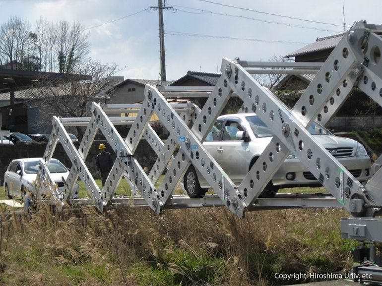 Rasklopivi most na makazice pomaže u nevoljama