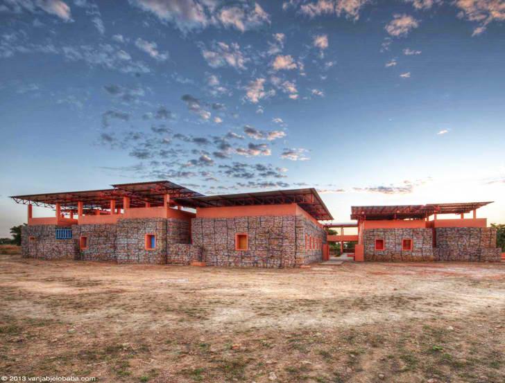 Objekat bez klime: Obdanište koje se hladi promajom