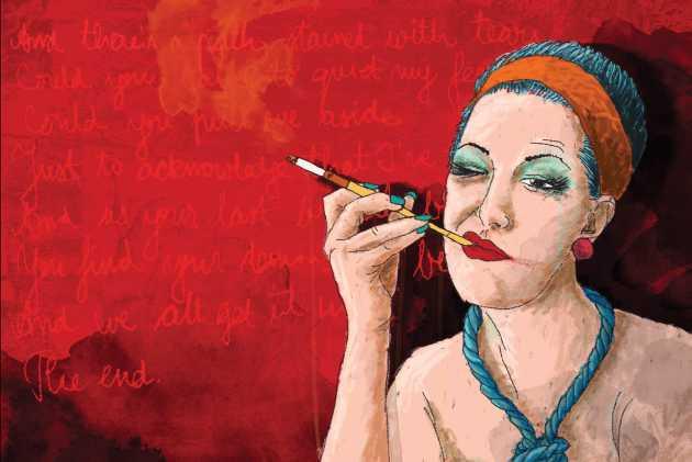 Izložba slika Oli Poppins: Revenge Porn Phenomenon