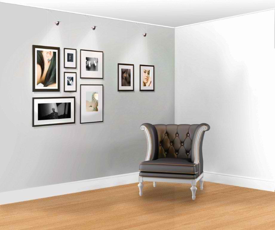 Za zidove bez rupa: Sistemi za kačenje slika o šinu