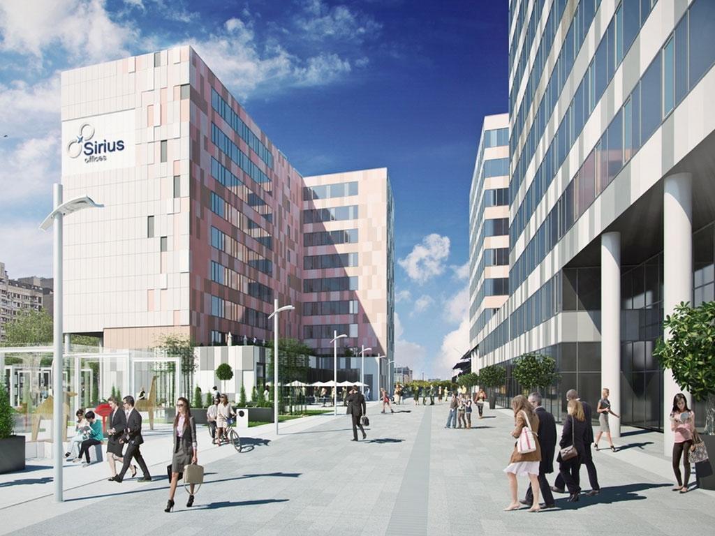 Erste Grupa gradi Sirius Offices u Novom Beogradu
