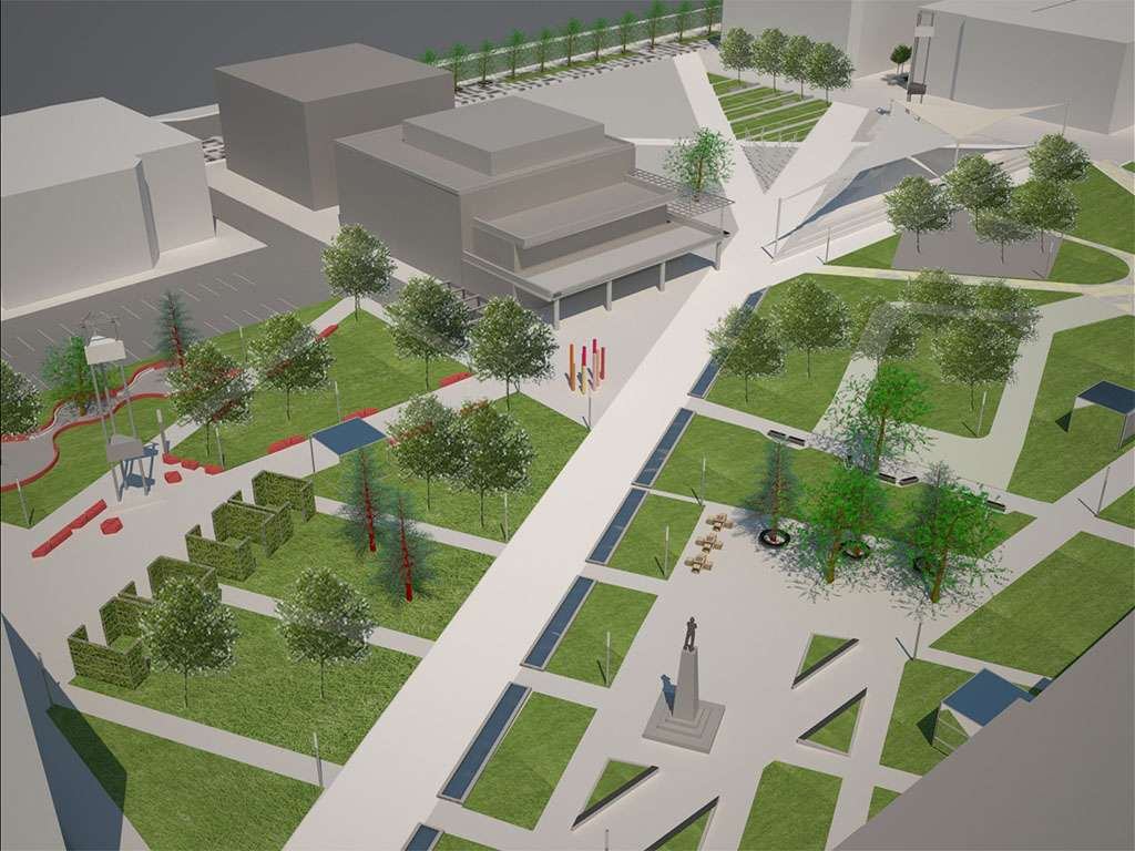 Pogledajte kako će izgledati novi centar Leskovca
