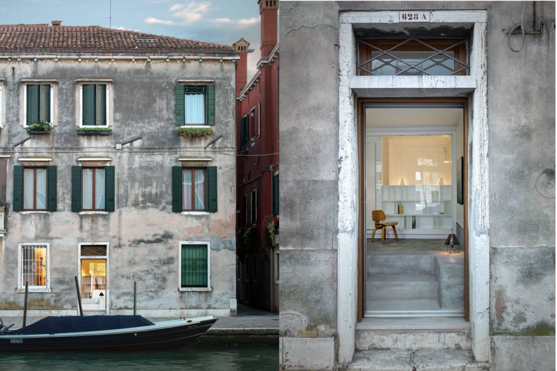 Betonsko korito štiti kuću u Veneciji od poplava