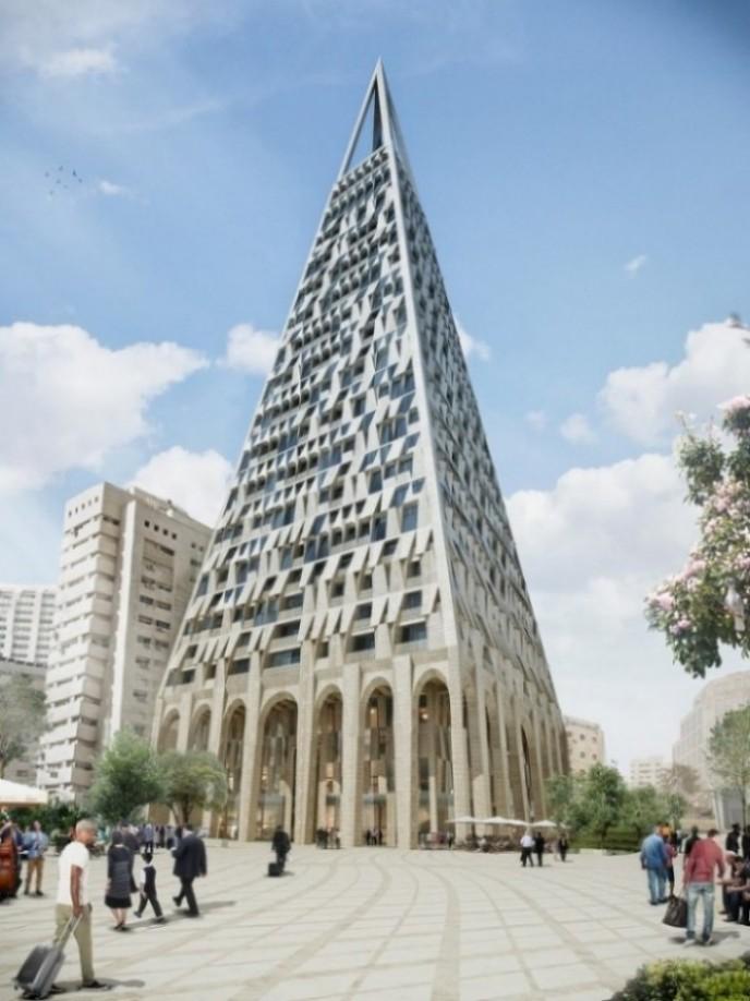 Planira se izgradnja piramide usred Jerusalema