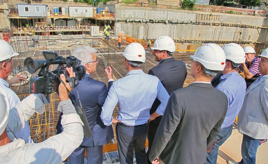 Kako napreduju radovi na izgradnji tržnog centra Rajićeva u Beogradu