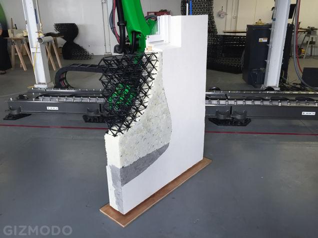 Armatura bez ograničenja: 3D štampom do amorfnih zidova