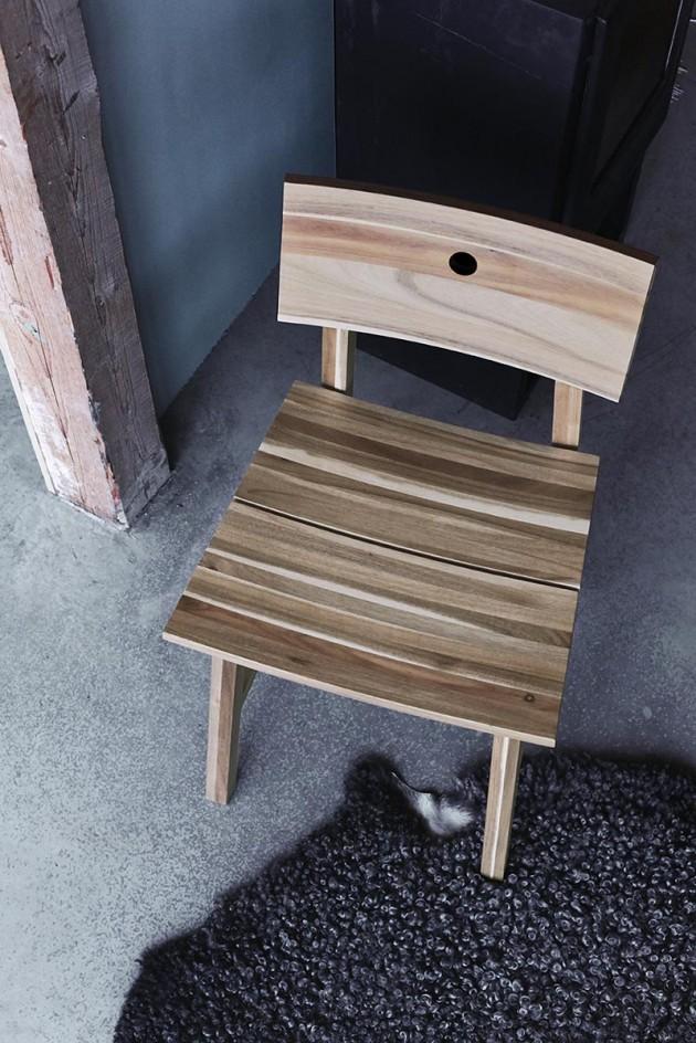 ikea-drvena-trpezarijska-stolica