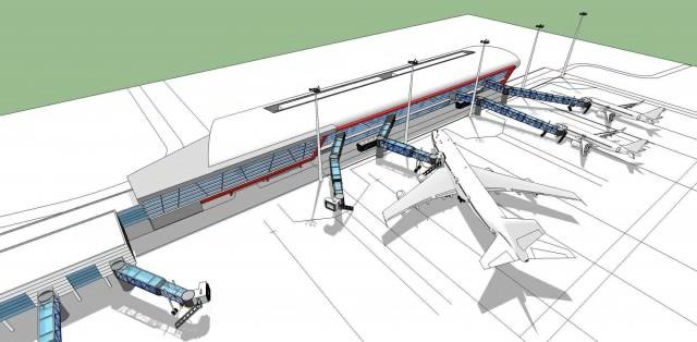 Kako će izgledati produžetak Terminala 2 aerodroma Nikola Tesla
