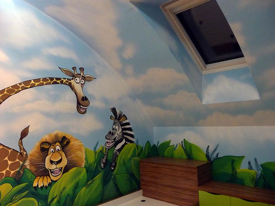 Oslikavanje zidova: Kako da sobu učinite jedinstvenom