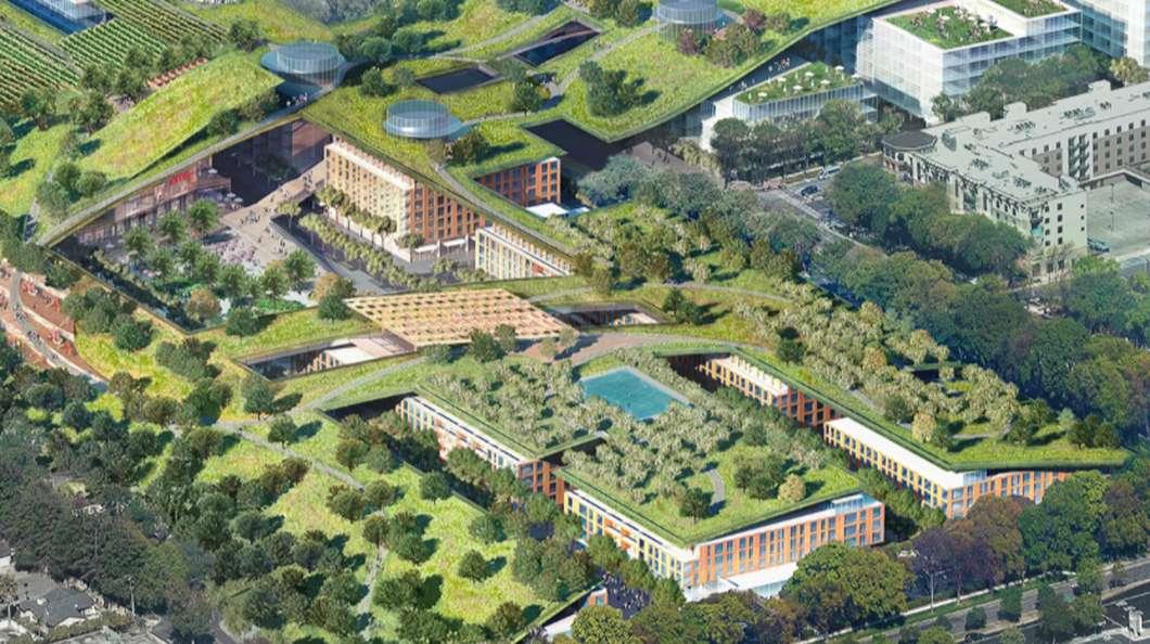 Najveći zeleni krov na svetu gradi se na nekadašnjem tržnom centru