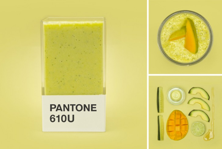Napravite smoothie u boji iz Pantone palete