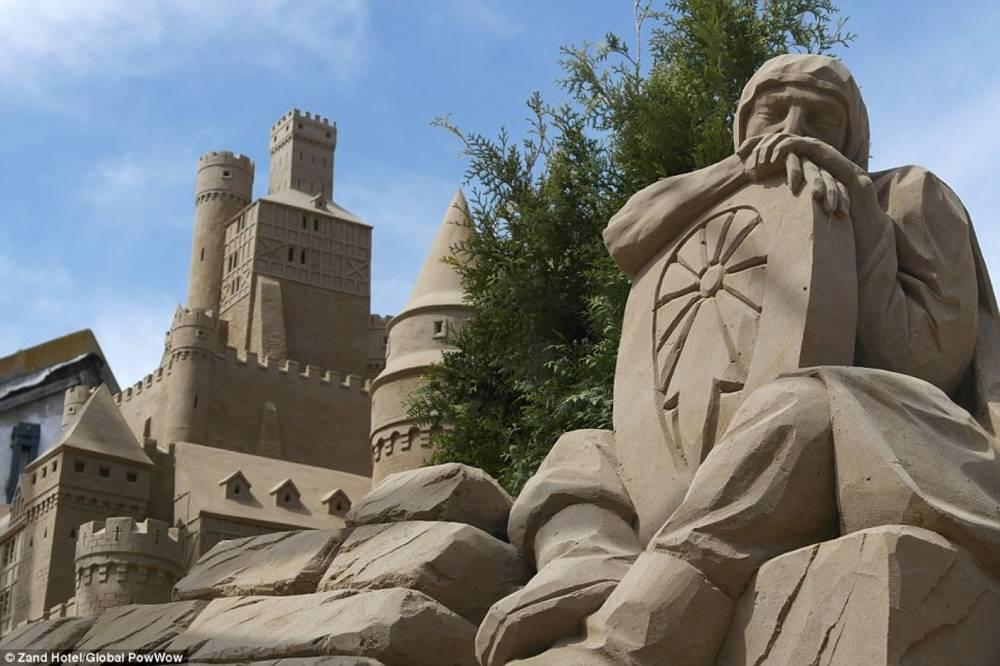 Zamak od peska u kojem se može i prenoćiti