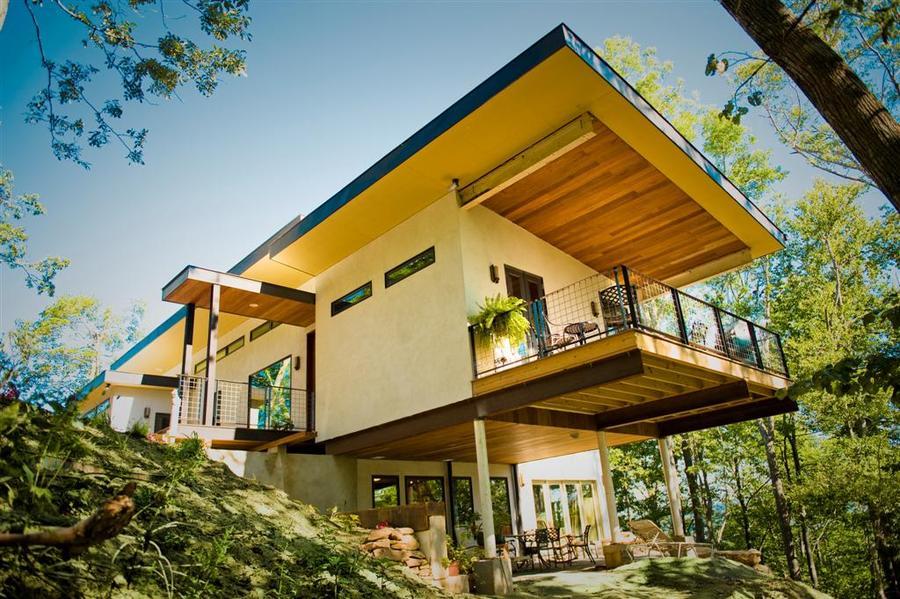 Kuća od konoplje koja čisti vazduh od ugljen-dioksida