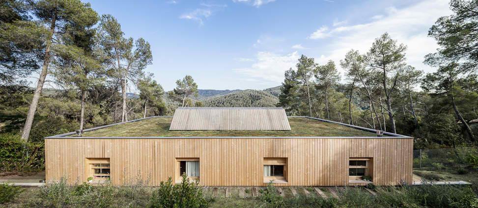 Zeleni krov na konzolnoj kući reguliše temperaturu u prostorijama