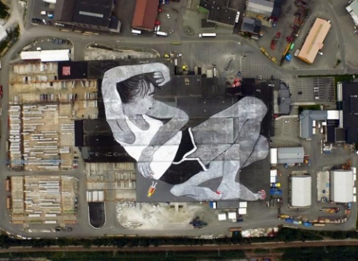 Pogledajte kako izgleda najveći mural na svetu oslikan u Norveškoj