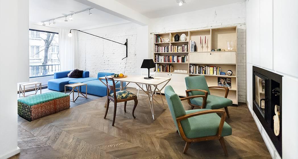 Koloritni stan u Sofiji okupan svetlom