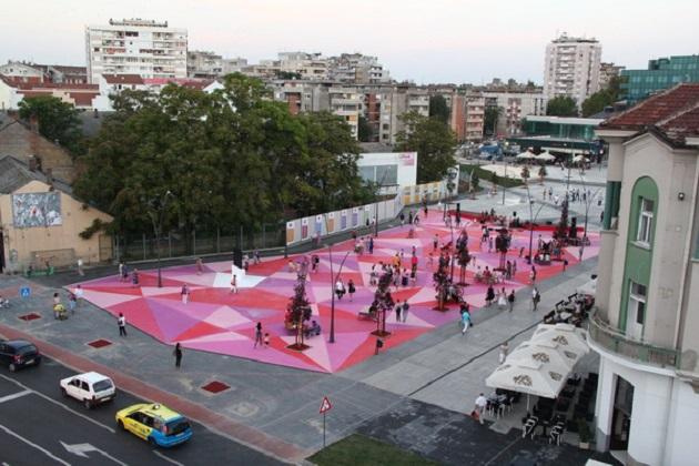 Oživljen centar: Otvoren novi trg u Šapcu