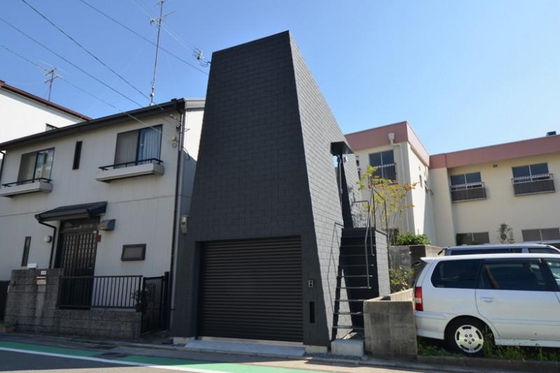 Planinska kuća sagrađena usred grada