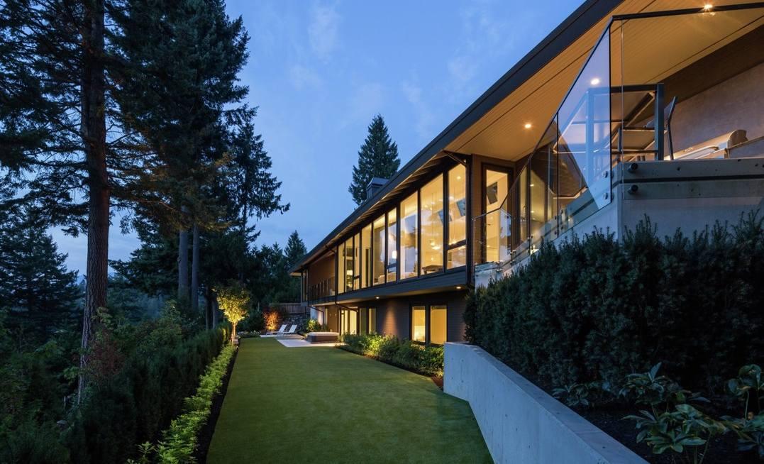Kuća oblikovana stranama sveta