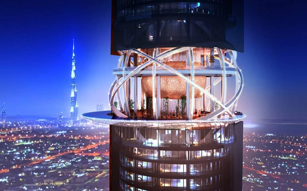 Grade se kule u Dubaiju s prašumom i plažom usred pustinje