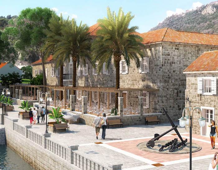 Investicije u Crnoj Gori: Gradi se Lazaret u Meljinama, hotel u Bijeloj i Portonovi u Kumboru