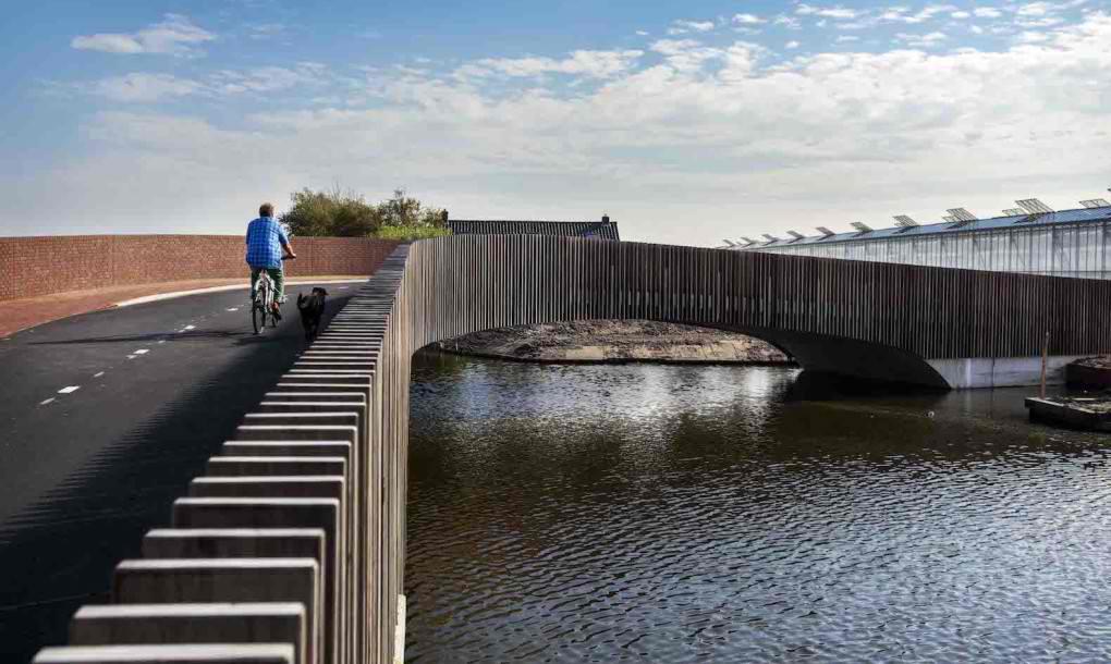 Danci podigli pešački most koji je ujedno i dom za slepe miševe