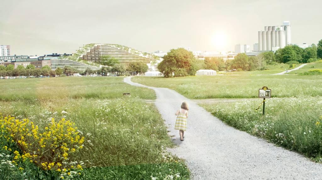 Stokholm pravi brdo usred grada koje je zapravo stambena zgrada