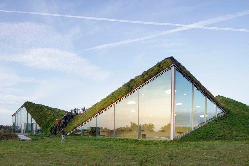 Prošetajte stazama na zelenom krovu holandskog muzeja