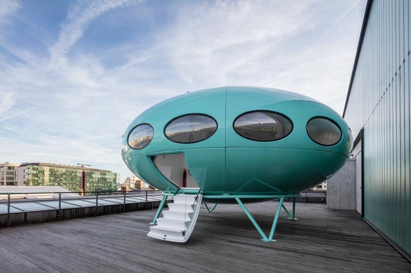 Povratak u budućnost: Futuristički objekat prizemljen na krovu londonske višespratnice