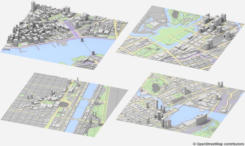 Besplatni CAD planovi gradova iz celog sveta