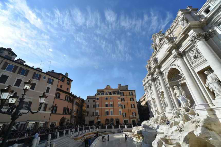 Posle renoviranja, fontana Di Trevi lepša nego ikad