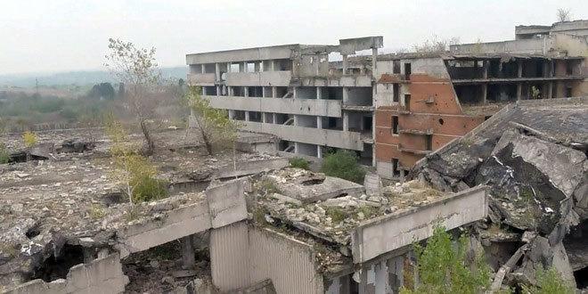 Kako izgleda ruševina zgrade Televizije Novog Sada