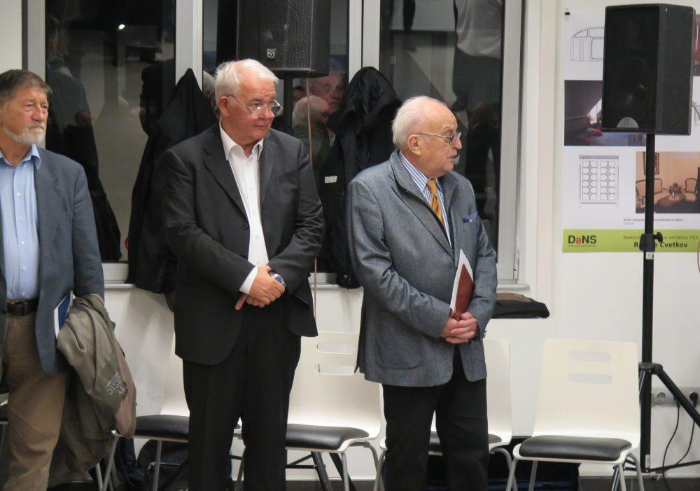 Snimak dodele Tabakovićeve nagrade arhitekti Radoju Cvetkovu