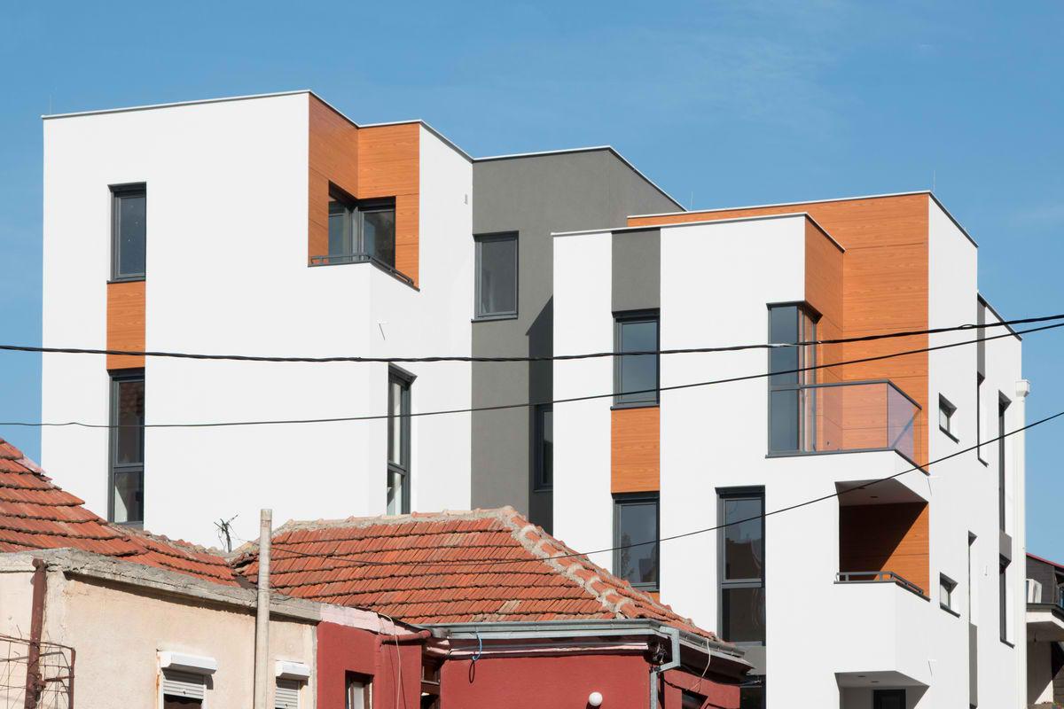 Kubična stambena zgrada u Nišu
