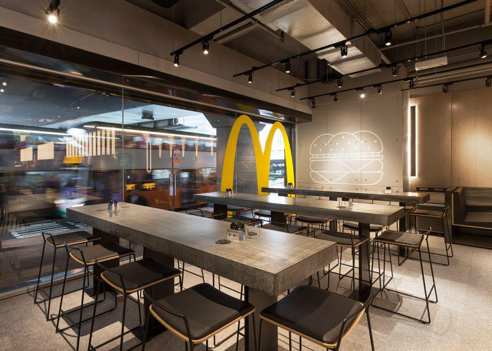 Enterijeri McDonald's restorana uskoro u industrijskom stilu?