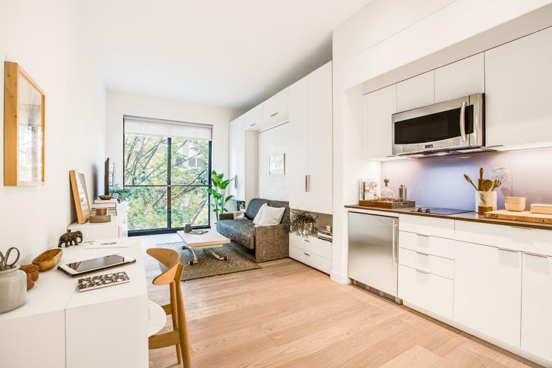 Kako organizovati mali stan: Saveti arhitekte prvog mikroapartmana u Njujorku