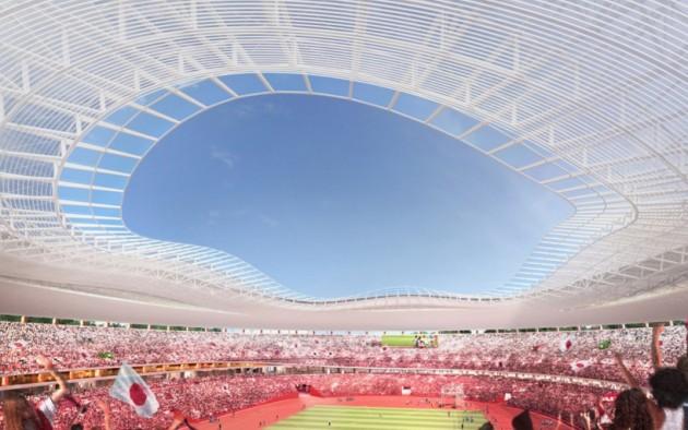 Nacionalni stadion u Tokiju 01
