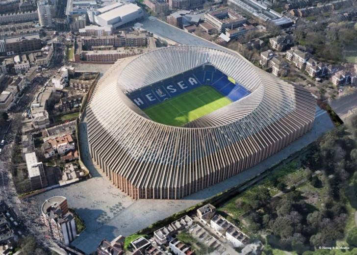 Friški renderinzi budućeg stadiona fudbalskog kluba Čelzi