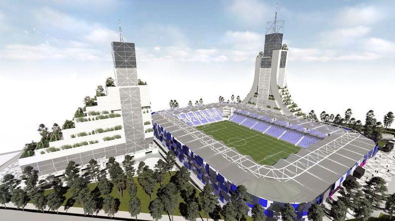 Kako će izgledati novi stadion sarajevskog Željezničara