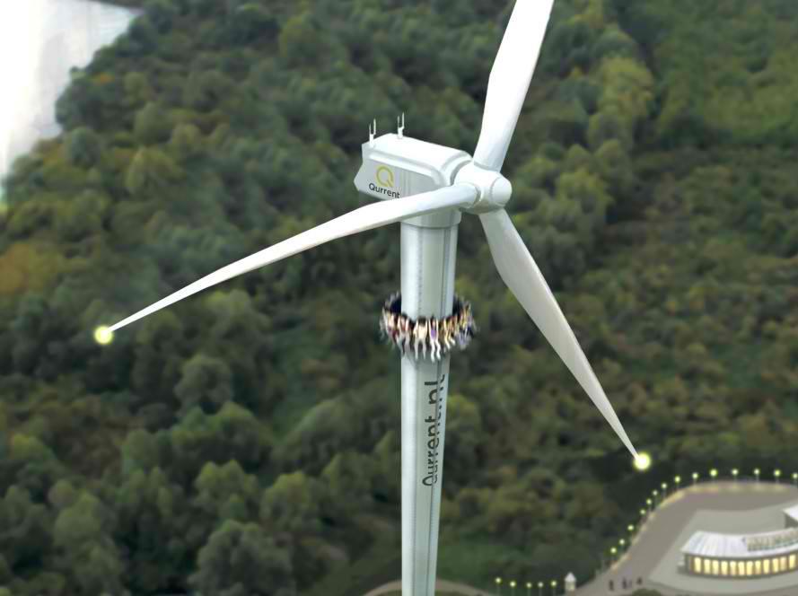 Holanđani pretvaraju vetropark u zabavni park
