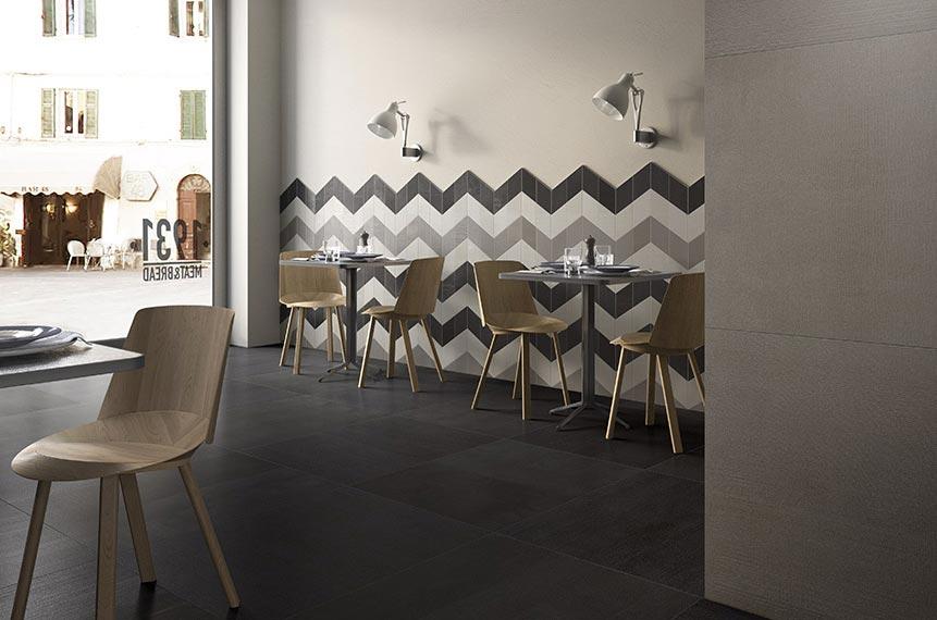 Pločice u obliku romboida za 3D efekat na zidovima