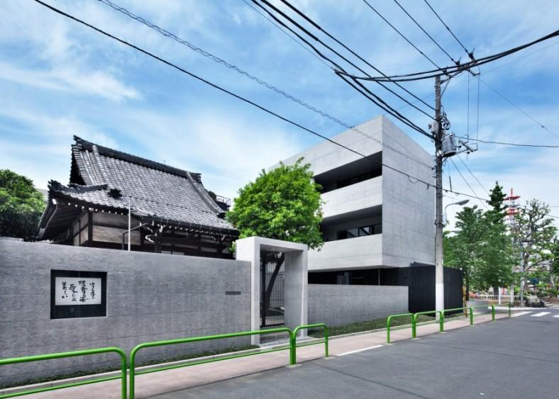 Novo betonsko ruho budističkog hrama u centru Tokija