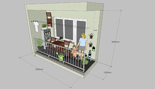 balkon uredjenje 2
