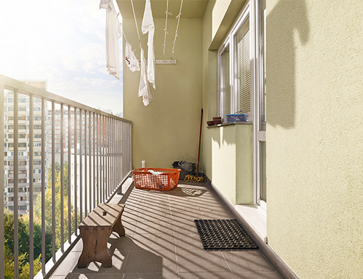 balkon uredjenje