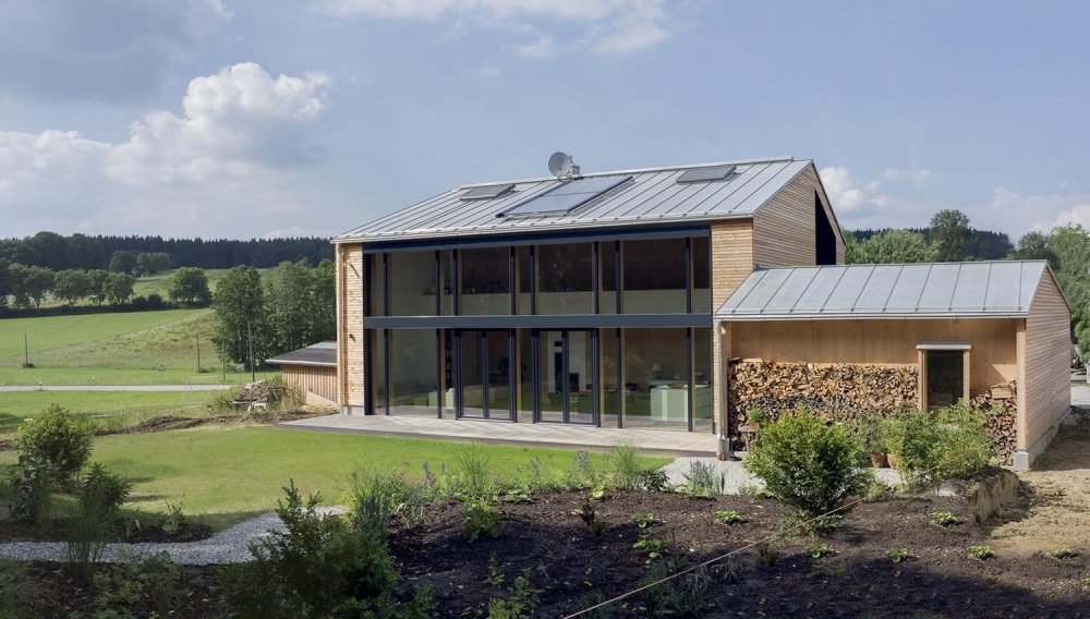 Energetski efikasna kuća koja se greje na pelet